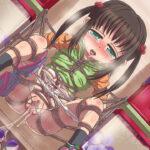 【39枚】二次ロリっ娘を緊縛拘束して調教中!おもちゃで縛られたロリっ娘にいたずらする調教エロ画像!