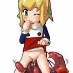 【39枚】ロックマンシリーズのロールちゃんにはぜひ射精もお手伝いしてほしくなる、ロリ可愛いロールちゃんエロ画像!