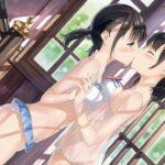 【おねロリ】ディープキス、大人のキスを教えられてるおねロリエロ画像!こうやってキスすると気持ちいいんだよ…って唾液交換キスしちゃう!