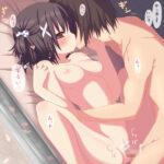 【大人のキス】ロリっ子に大人のキスを教えてるロリディープキスエロ画像!舌を絡ませ濃厚に口づけしちゃいます!
