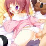 【ずらし挿入】女児ショーツの布の質感とロリまんまんの肉感が両方味わえるロリっ子パンツずらし挿入エロ画像!