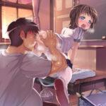 【教室でエッチ】JKやJCが普段使ってる教室の学習机の上でエッチなことしちゃってる性春の1ページ