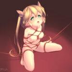 【ロリ緊縛拘束】がっつり荒縄でロリ少女を縛って本格的な緊縛拘束調教してるロリ少女のSM緊縛エロ画像!