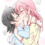 【ロリレズキス】ロリ少女が女の子同士で濃厚キスしてレズエッチする直前、もしくはレズエッチ中のディープキスエロ画像!