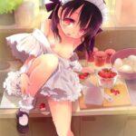 【ロリ裸エプロン】暑いからってそんな恰好で料理してると(襲っちゃうから)危ないよ!ってロリっ子裸エプロン挑発エロ画像!