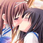【37枚】女の子同士でキスしたり抱き合ったり、いちゃいちゃ百合画像