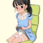 【おむつロリ少女】ロリ少女がおむつする年でもないのにおむつつけられて恥ずかしい思いしているエイジプレイおむつロリ画像!