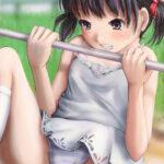 【鉄棒ロリ少女】可愛いロリ少女が鉄棒で遊んでいるのを安全のためにしっかり見守りたい鉄棒ロリ画像!